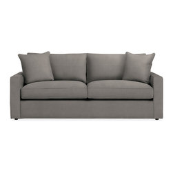 York sofa - With our York sofa, everyone—short, tall and in between—can have a seat. A Room & Board favorite since 1997, the seat height and depth of York is designed to accommodate a range of sizes with great support and comfort. This smaller scale and variety of pieces make it easy for this versatile collection to fit your floor plan.