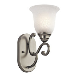 Kichler Lighting - Kichler Lighting 45421NI Camerena Traditional Wall Sconce - Kichler Lighting Camerena Traditional Wall Sconce X-IN12454