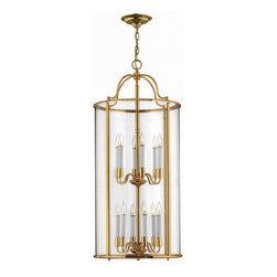 Hinkley Lighting - Hinkley Lighting 3479PB Gentry Polished Brass Pendant - Hinkley Lighting 3479PB Gentry Polished Brass Pendant