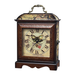 """Sterling Industries - Sterling Industries 118-006 Sterling 10"""" Height Butterfly Wooden Display Clock - Specifications:"""