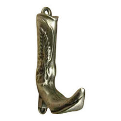 Anne at Home Hardware - Front Boot Hook - Made in the USA - Anne at Home customized cabinet hardware enables even the most discriminating homeowner to achieve the look of their dreams.  Because Anne at Home cabinet hardware is designed to meet your preferences, it may take up to 3-4 weeks to arrive at your door. But don't let that stop you - having customized Anne at Home cabinet knobs and pulls are well worth the wait!   - Available in many finishes.