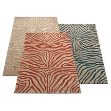 eclectic outdoor rugs by Grandin Road