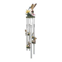 GSC - Wind Chime Round Top Hummingbird Hanging Garden Decoration Windchime - This gorgeous Wind Chime Round Top Hummingbird Hanging Garden Decoration Windchime has the finest details and highest quality you will find anywhere! Wind Chime Round Top Hummingbird Hanging Garden Decoration Windchime is truly remarkable.