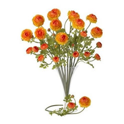 23-in. Set of 12 Ranunculus Stems