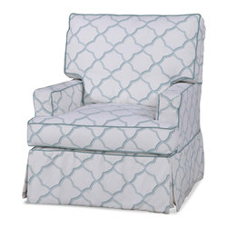 Chelsea Home Furniture - Chelsea Home Piper Accent Chair in Jamal Pool - Our beautiful slip cover collection is specially crafted with you in mind. We offer a variety of styles with a slipcover over a muslin frame. Our unique slipcover system allows you to change your cover whenever you want. Whether it be a little dirty, a new season, or you are just bored with your current look, we have you covered.