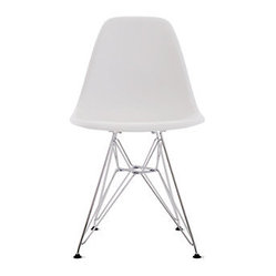 Eames Molded Plastic Side Chair in Assorted Colors