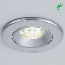 Bruck - Bruck | Ledra 12 with J-Box and Driver - The Ledra 12 with J-Box and Driver is a recessed ceiling or wall mounted fixture. Pressure fit mounting hardware allows for  no screws to be visible. Suitable for indoor use. The small size, long life, lack of UV, and cool beam makes them suitable for  a variety of applications.Available in choice of finishes, beam spreads and LED color temperatures. Includes driver and  special junction box.Technical Specifications: