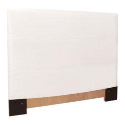 Howard Elliott - Avanti White Slipcovered Headboard (King) - Choose Size: King