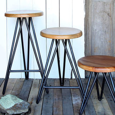Transitional Bar Stools And Counter Stools by Bliss Home & Design