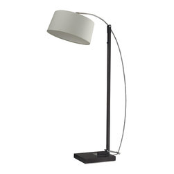 Dimond Lighting - Dimond Lighting D2183 Logan Square Dark Brown Floor Lamp - Dimond Lighting D2183 Logan Square Dark Brown Classic/Traditional Floor Lamp