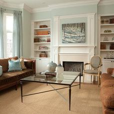 Traditional Living Room by Lerner Interiors