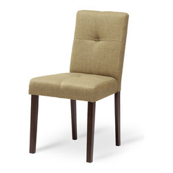 Bryght - 2 x Elsa Latte Fabric Upholstered Light Cappuccino Dining Chair - Sink into comfort with the Elsa dining chair. Retro with modern undertones, this dining chair is beautifully upholstered in a tactile latte fabric.