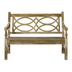 Kathy Kuo Home - Traditional Classic English Garden Outdoor Bench - Nothing says traditional style quite like an English Country Garden.  This charming garden bench made from concrete construction is tough enough to live outdoors, yet stylish enough that you'll wish it would come indoors.  Generously proportioned, this classic piece is the perfect place to enjoy the pleasures of the outdoors.