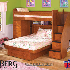 contemporary kids beds by Berg Furniture