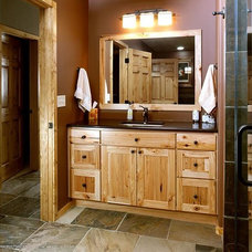 Rustic Bathroom by Cayce Mill Design Center