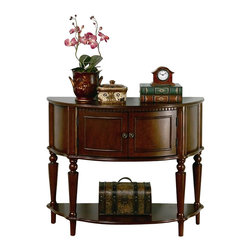 Coaster - Coaster Storage Entryway Console Hall Table in Brown - Coaster - Console Tables - 950059 -The Coaster Furniture storage entryway is made especially for entry ways and hall ways to give it a touch of elegance!
