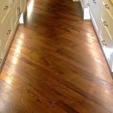 Modern Wood Flooring by Hardwood Designs