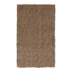Surya - Surya Reeds REED-806 (Tan, Coffee Bean) 8' x 11' Rug - This Hand Woven rug would make a great addition to any room in the house. The plush feel and durability of this rug will make it a must for your home. Free Shipping - Quick Delivery - Satisfaction Guaranteed