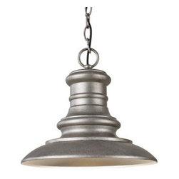 "Murray Feiss - Murray Feiss OL8904 Redding Station 12"" Diameter 1 Light Outdoor Hanging Lantern - Features:"