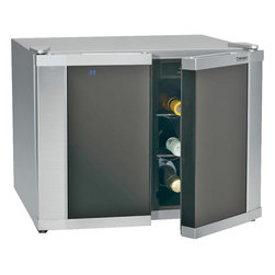 Cuisinart - Cuisinart 12-Bottle Dual-Zone Wine Cooler - Dual zone, double door compartments allow for 2 different temperature zones for whites and reds