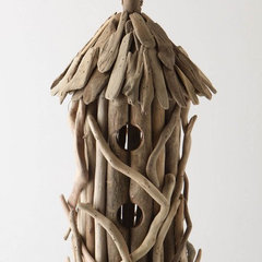 traditional birdhouses by Anthropologie