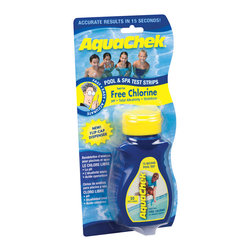 Blue Wave - Blue Wave Aquachek Yellow Test Strips 50 - Aquachek test strips the quick, easy way to test pool water! No more vials, reagents and messy drops. Use Aquachek's simple, yet accurate test strips instead of that complicated liquid test kit. Just dip and read the results in 30 seconds. The 4-way chlorine strips test for free chlorine, Ph, total alkalinity, and cyanuric acid.