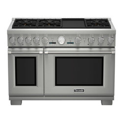 "Thermador 48"" Pro Grand Dual-fuel Range, Stainless Steel 