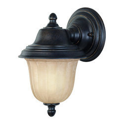 Dolan Designs - Dolan Designs 9120-68 Helena Winchester Black Outdoor Wall Sconce - Dolan Designs 9120-68 Bronze Outdoor Lighting