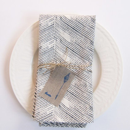 eclectic table linens by Melissa de la Fuente