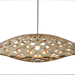 David Trubridge Flax 800 Pendant Lamp