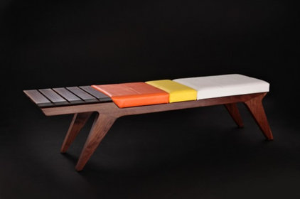 modern benches by Jory Brigham Design