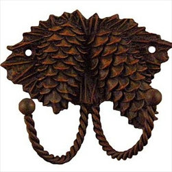 Sierra Lifestyles Decorative Hook - Pinecone - Rust - Get Idea About Sierra Lifestyles Decorative Hook - Pinecone - Rust. Sierra Lifestyles  Cabinet Hardware, Cabinet  Knobs, Cabinet Pulls , Switch plates, Rustic cabinet hardware, Double Hook, Hook, Decorative Hook, Knobs, Pulls and Decorative Hardware Accessories