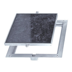 """Best Access Doors - Removeable Floor Door - 1/8""""  Recess for Vinyl Tile / Carpet, Mill Finish, 12""""x1 - 12"""" x 12"""" Floor Door, Removeable, Panel Recessed 1/8"""" for Vinyl Tile/Carpet   The Best Access BA-FT-8080 aluminum floor access door is designed for interior and exterior applications that require an access opening that will blend in with the surrounding floor material. To keep the floor material from cracking or chipping within the door panel, the securing screws are located in the flange of the mounting frame.       -    Application   - Designed for interior and exterior applications that require an access opening that will blend in with the surrounding ?�_oor material   Product Features   - Recessed 1/8"""" to accommodate carpeting and vinyl tile.- To keep the ?�_oor material from cracking or chipping within the door panel, the securing screws are located in the ?�_ange of the mounting frame   BA-FT-8080 Floor Door Speci?�cations:   - Material: Aluminum - Door: 1/4"""" smooth aluminum plate reinforced for live load of 150 pounds/sq. ft., recessed 1/8"""" for carpet//vinyl tile- Frame: 1-1/2"""" x 1-1/4"""" aluminum angle with mounting holes in top ?�_ange- Standard Latch: Door panel is secured to frame with 1/4"""" x 1"""" ?�_at head screws- Finish: Mill ?�nish"""