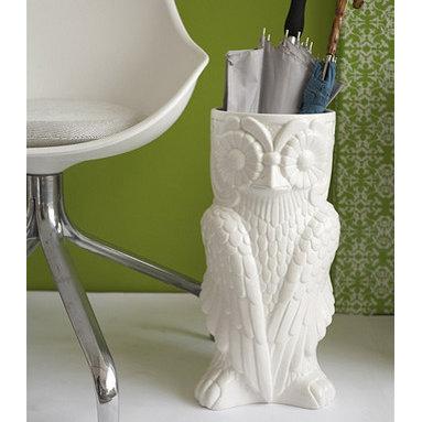 Midcentury Owl Stand -