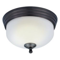 Quoizel - Quoizel DI1611HO Ceiling Light - Give your bathroom modern lighting that exudes sleekness and simplicity. The shades are made of opal etched glass, and provide a soft, yet bright light for all your grooming needs. The trendy, harbor bronze finish coordinates with many popular sink fixtures.