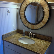 Eclectic Bathroom Sinks by Total Quality Home Builders, Inc.