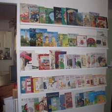 Eclectic Kids picture book shelf