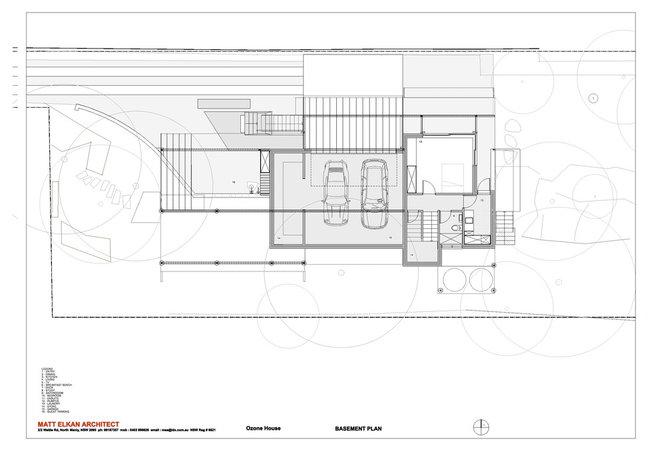 Floor Plan by Matt  Elkan Architect
