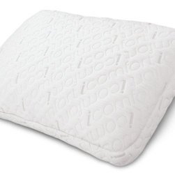 Serta - Serta iComfort Scrunch Pillow with Cool Action Gel Memory Foam Beads, Queen - Serta's iComfort Scrunch Pillow is filled with hundreds of Cool Action gel memory foam cushions, allowing you to fluff it up or bunch it together like a traditional down pillow, letting you choose your ideal level of pillow comfort. Unlike traditional down pillows, however, the iComfort Scrunch pillow is designed to hold its shape and support your head and neck while you sleep.
