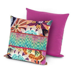 Missoni Home - Missoni Home | Neda PW Pillow 24x24 - Design by Rosita Missoni.