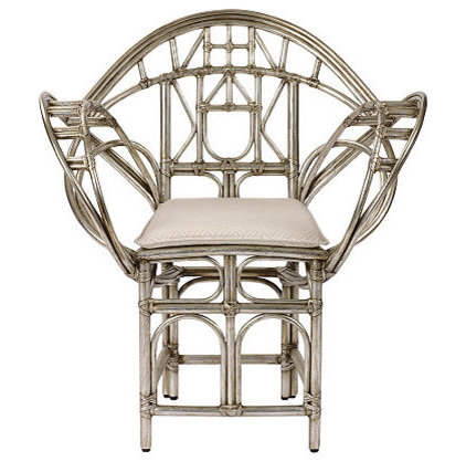Contemporary Living Room Chairs by McGuire Furniture Company