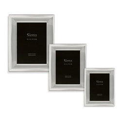 Tizo Design Inc. - Siena Silver Plain Picture Frames - Affordable and stylish silver picture frames have a tarnish resistant coating for timeless beauty. Silver molding with a plain border creates a traditional, yet stylish silver border that brings your eye right to the print for a contemporary feeling.