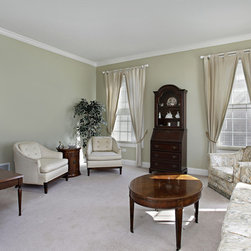 Carpet Flooring - A warm and welcoming room using carpet as flooring material - Foundation Floors