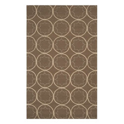 Surya - Surya Rain RAI-1096 (Stone, Army Green) 5' x 8' Rug - Rain or shine, these rugs look great outdoors! These hand hooked all weather rugs are manufactured to withstand the rigors of outdoor use. You don't need to worry about ruining your rug by spilling a drink or dropping food, just hose off and it's clean! The colors and designs we specially created to add to the outdoor ambiance.