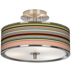 "Island Party Glow 14"" Ceiling Light 