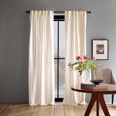 Modern Curtains by West Elm
