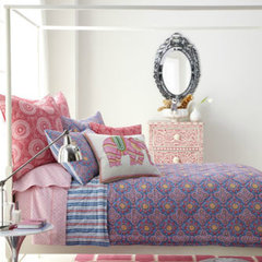eclectic bedding by Neiman Marcus
