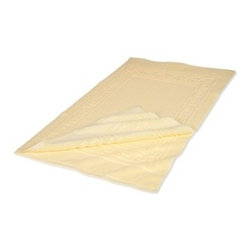 Superior Egyptian Cotton 2-Piece Canary Bath Mat Set - Egyptian Cotton 2pc Canary Bath Mat Set