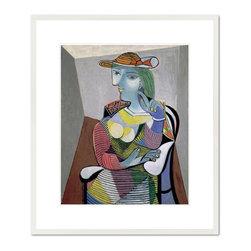 Portrait de Marie-Th'r'se, 1937 - Pablo Picasso, Portrait de Marie-Th'r'se, 1937. Mus'e National Picasso.