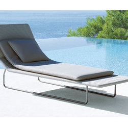 Surf Chaise - If your poolside is more Capri than Cape Cod, this elegant chaise fits the bill perfectly.
